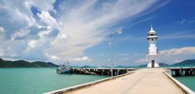 Molo d'imbarco Koh Chang - thailandia