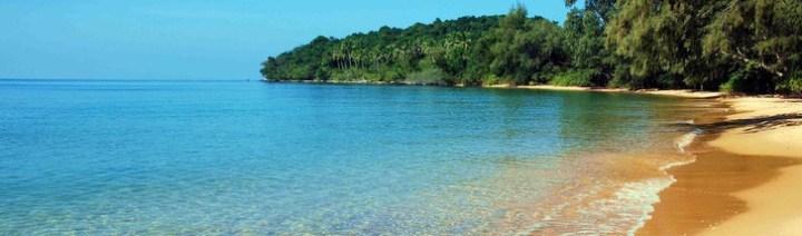 Il meraviglioso mare della Cambogia a Sihanoukville