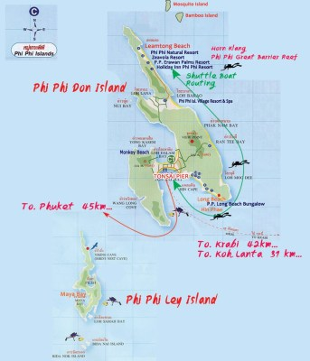 Isole di Phi Phi Island