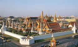 Gran Palazzo Reale di Bangkok, Thailandia.