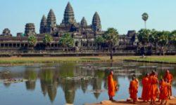 Angkor Wat è una tappa scontata durante una vacanza culturale in Cambogia.
