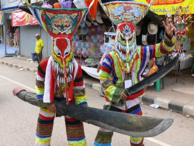 Maschere al Phi Ta Khon
