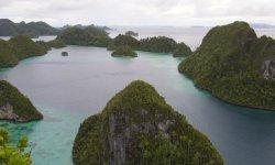 L'arcipelago di Raja Ampat.