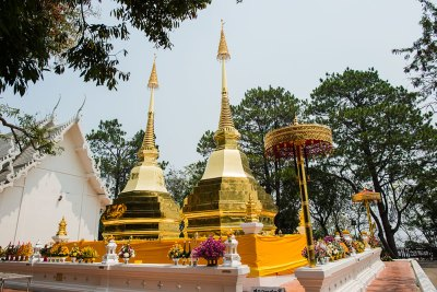 Wat Phra That Doi Tong a chiang rai in thailandia