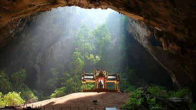 Tham Phraya Nakhon grotta thailandia