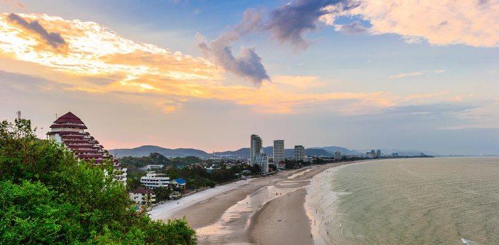 Hua Hin e il mare della thailandia