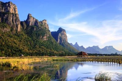 Parco Nazionale di Khao Sam Roi Yot in thailandia