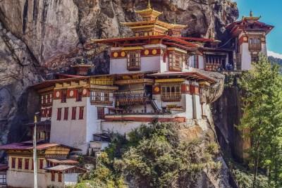 monastero bhutan tana della tigre