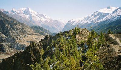 distretto del manang nepal annapurna