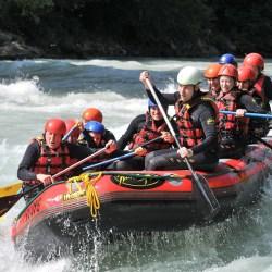 Rafting a Phang Nga