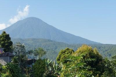 Veduta del Gunung Agung
