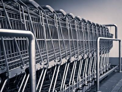 carrelli nei centri commerciali