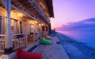 hotel sulla spiaggia nusa penida - indonesia