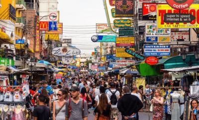 khao san road - quartiere bangkok