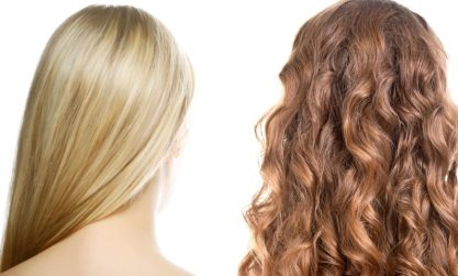 Curly or straight hair