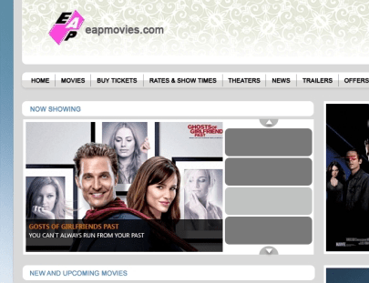 EAP Films and Theaters – Movie tickets booking and entertainment portal