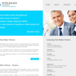 Peter Walker Partners – Website Design
