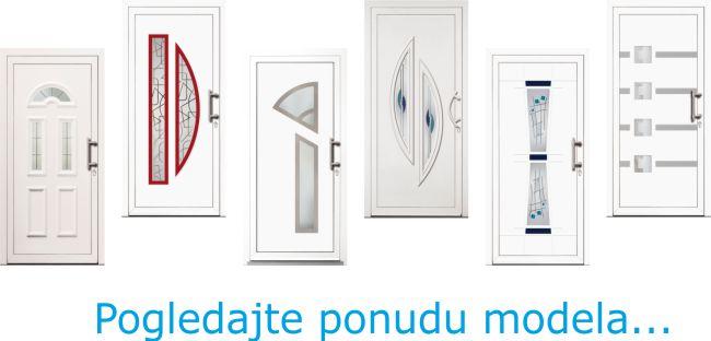 Modeli panela pvc ulazna vrata