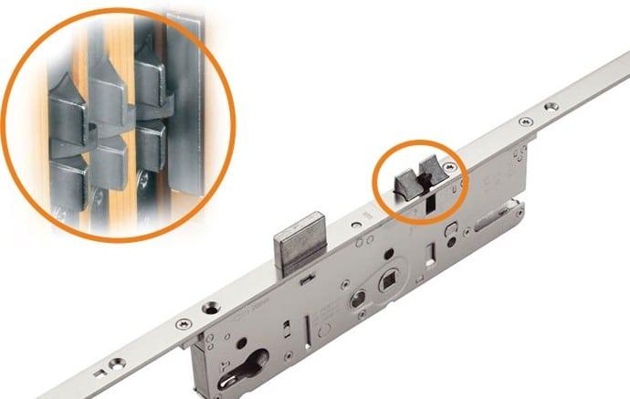 Dodatni element brave za pvc ulazna vrata