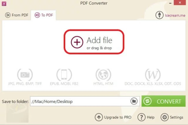 Icecream PDF Converter_8