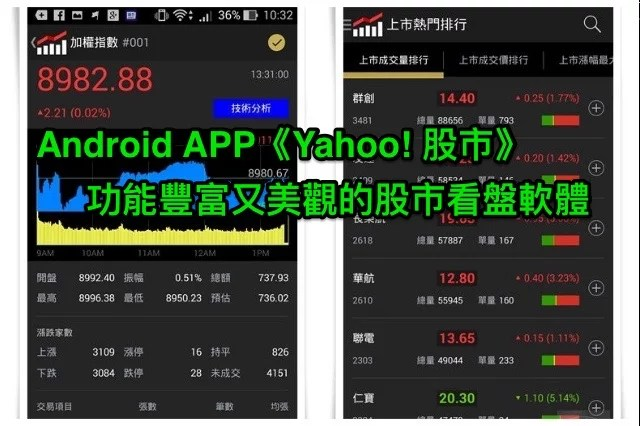 android-yahoo-stock-app