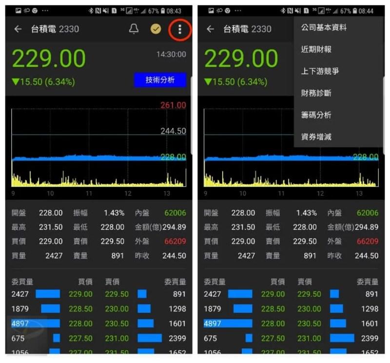 android yahoo stock_3