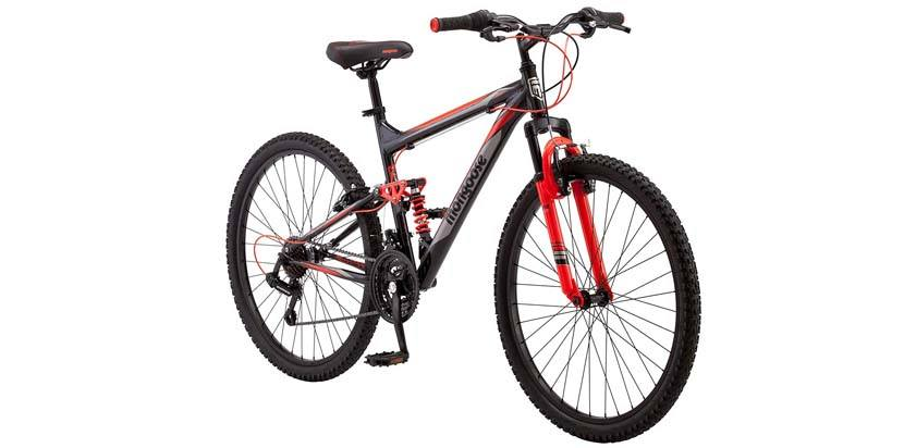 "Mongoose Status 2.2 Mountain Bike 26"" Wheel Men's bicycle"