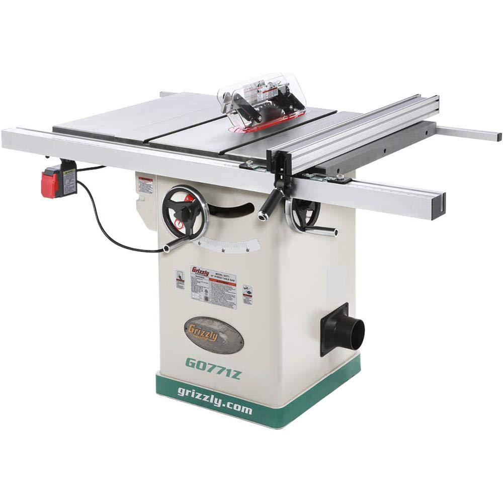 """Grizzly Industrial G0771Z - 10"""" 2 HP 120V Hybrid Table Saw"""