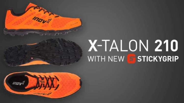 X-TALON 210 running shoes with STICKYGRIP by inov-8