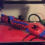 Spiderman prosthetic hand 3d printed