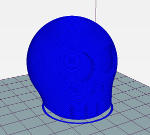 velocity paint issue-cura-no retract