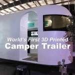 The finished 3D Printed Camper!