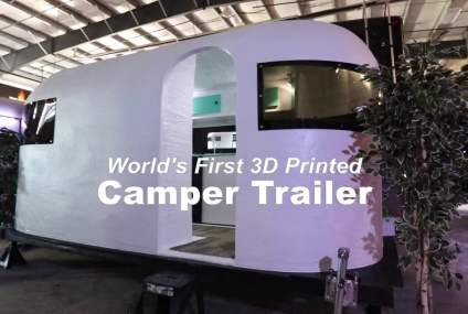 3D Printed Camper Worlds First Its Huge!