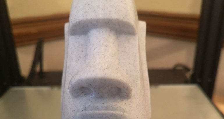 Geeetech Marble Filament Review - Solid as a rock?