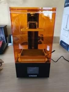 Longer3D Orange 10 review - A budget resin 3D Printer!