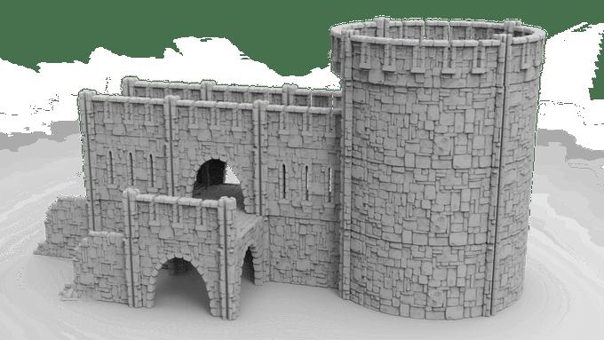 WarLayer Kickstarter 3D Printable TTG Terrain.