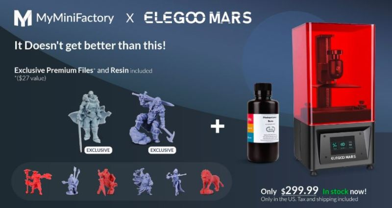 MyMiniFactory & Elegoo join forces - Breaking News!!