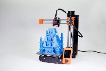 Prusa MINI – Grow Your 3D Production Big by Getting Small!