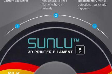 SUNLU Silk Filament – discount code for Amazon EU