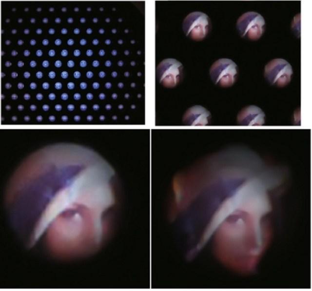Câmera digital ultrafina inspirada em olho de inseto estranho