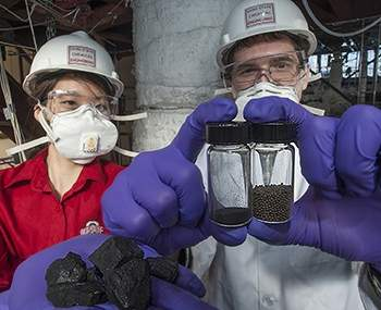 Carvão produz calor sem combustão e sem emitir CO2