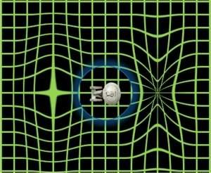 A nave não se moveria de fato, ela se colocaria entre as dimensões de expansão e de encolhimento do universo. Como o espaço se moveria ao redor da nave, a teoria não viola a Teoria da Relatividade de Einstein.