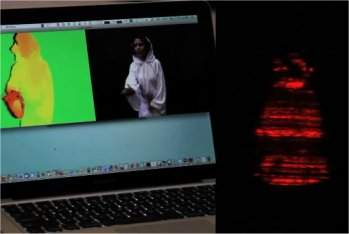 Vídeo holográfico é feito com Kinect hackeado