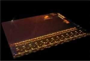 Chip fotônico transfere dados a 1 terabit por segundo