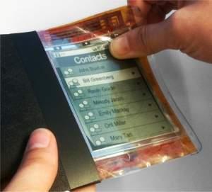 Papel eletrônico mostra futuro dos computadores flexíveis