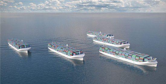 Vêm aí os navios sem tripulação