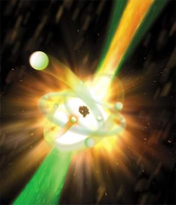 Criado primeiro laser de raios X atômico