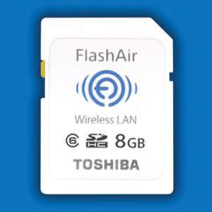 Toshiba lança cartão de memória com conexão wireless