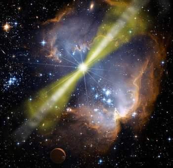 Terra foi atingida por explosão de raios gama na Idade Média