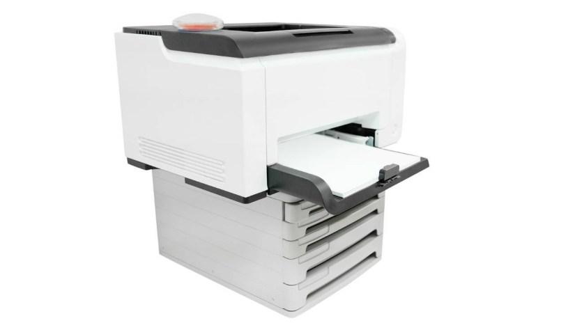 Impressora à Laser para rótulo de remédio